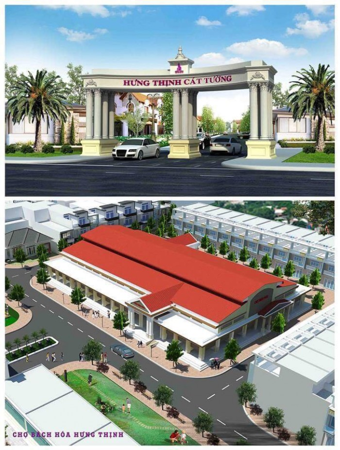 Đất nền dự án Hưng Thịnh Cát Tường Town, cơ hội làm giàu