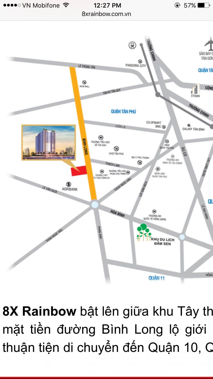 Chung cư giá rẻ nhận nhà cuối năm, còn 10 căn cuối tại Tân Phú
