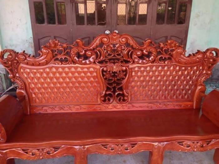 Bộ Bàn Ghế Hoàng Gia gỗ hương vân3