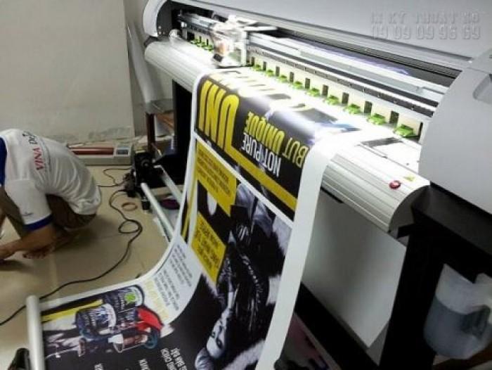 Tại In Kỹ Thuật Số chúng tôi trực tiếp thực hiện đơn hàng in PP poster cho bạ...