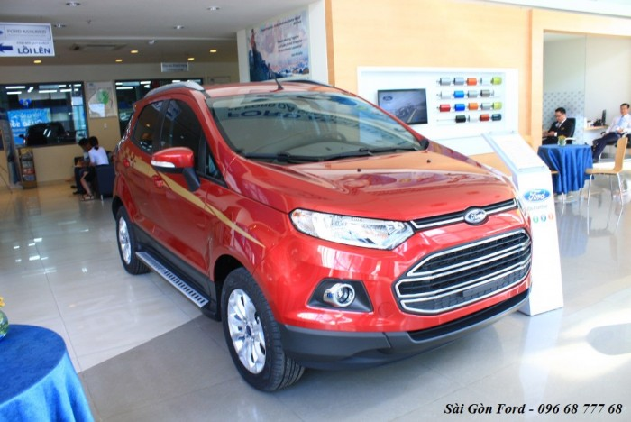 Khuyến mãi mua xe Ford Ecosport Titanium 2017, số tự động, vay trả góp chỉ 150 triệu, giao xe tháng 09/2017