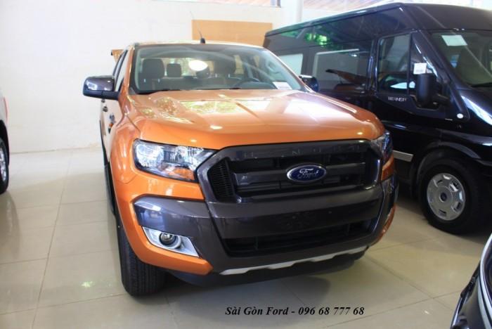 Khuyến mãi mua xe Ford Ranger Wildtrak 2.0L, số tự động, vay trả góp chỉ 150 triệu - Hotline: 0966877768 (24/24)