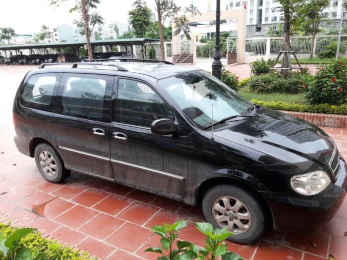 Chính chủ (sử dụng từ mới) bán xe Kia Carnival 2006, số sàn