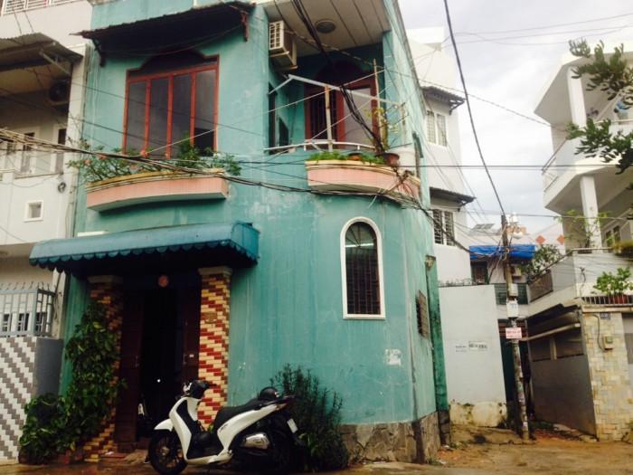 Bán nhà 2 MT HXH 7m Nơ Trang Long, DT 5x7m, 1 lầu đúc thật kiên cố, giá 3.15 tỷ