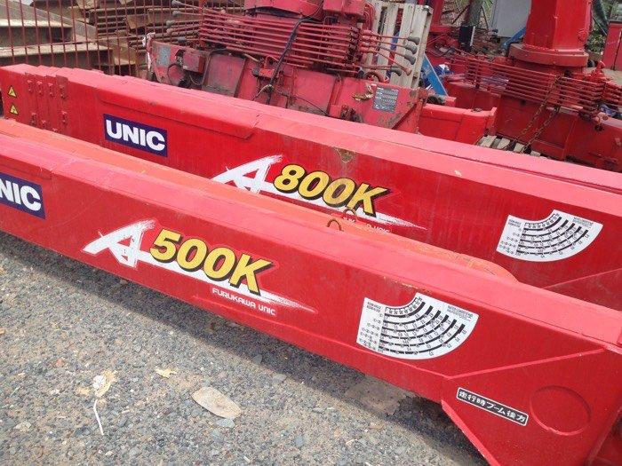 Cẩu Unic 500 800 mới 100% nhập khẩu Japan