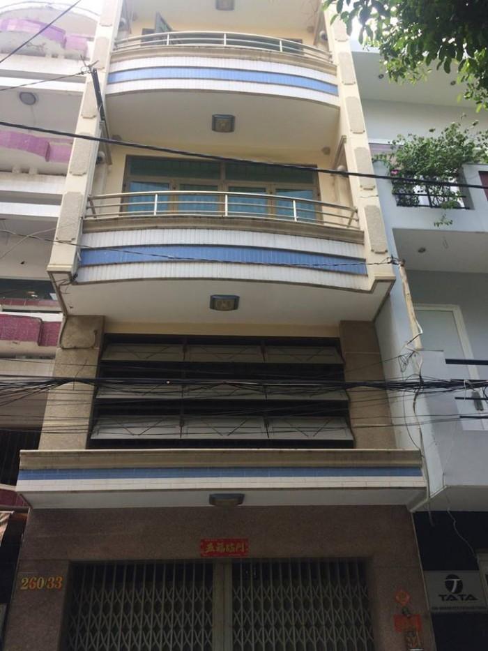 Nhà bán hẻm xe hơi Lạc Long Quân p10 q11 gần Đầm Sen.