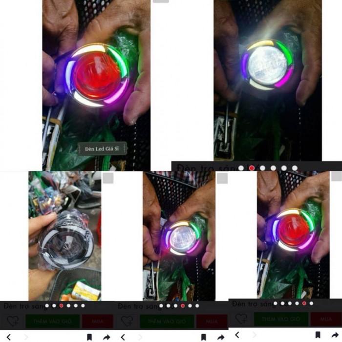Đèn Led Rời U7 Angel Eyes 7 Màu Gắn Tròng Mắt Cú Exciter 150