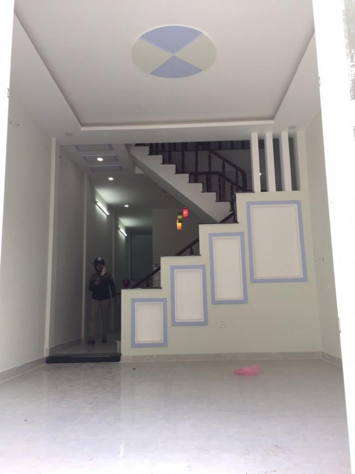 Nhà phố 2 sẹt TX38 cách Hà Huy Giáp 50m BTCT 1 tấm, móng ép cọc bê tông, đà, cột, sàn BTCT kiên cố