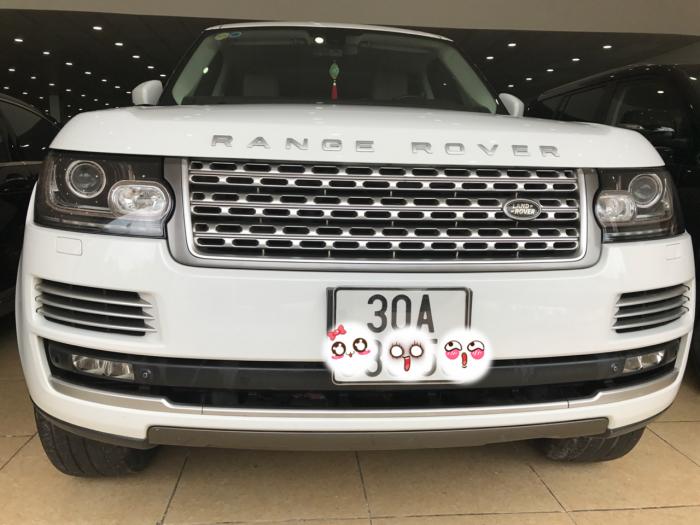 Bán Range Rover Hse Màu Trắng Model 2014 Đăng Ký 2015 Xe Siêu Đẹp Chạy 1,8 Vạn