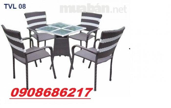Bàn ghế cafe giá siêu rẻ1