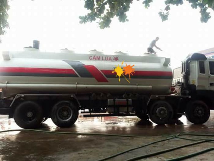 bán xe bồn chở xăng dầu cũ HD310 sx năm 2015  dung tích 21000 lít