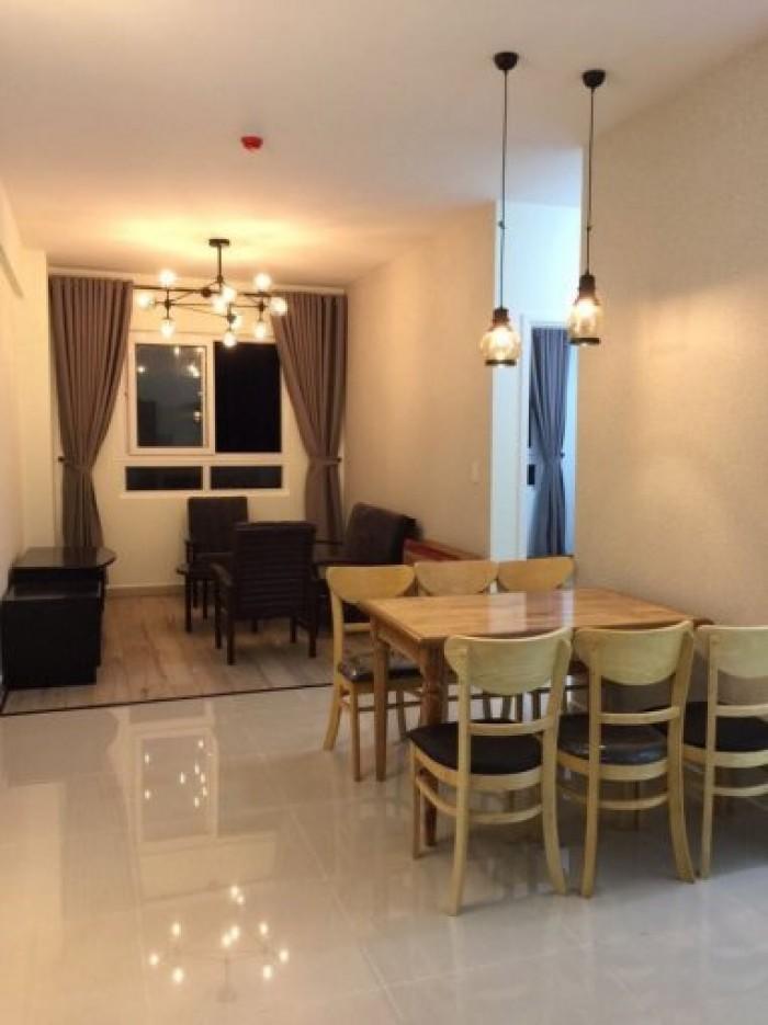 Cho thuê 2 căn hộ CC Topaz city Q.8 2PN 10,5 triệu/th và 3PN 16 triệu/th FULL nội thất cao cấp.