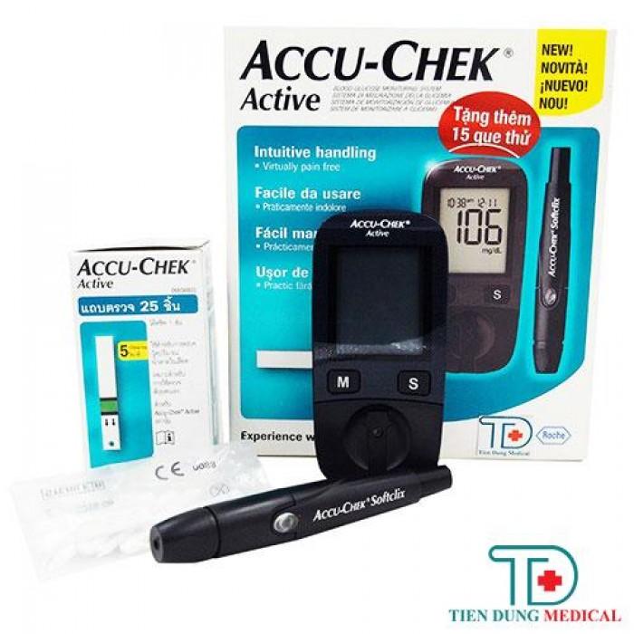 Máy Đo Đường Huyết Accu-Chek Active0