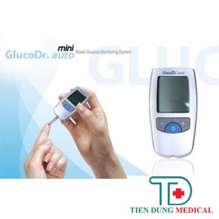 Máy Đo Đường Huyết GlucoDr2