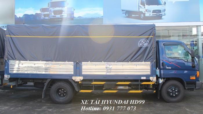 Xe tải Hyundai HD99 6,5 tấn thùng mui bạt - Đô Thành