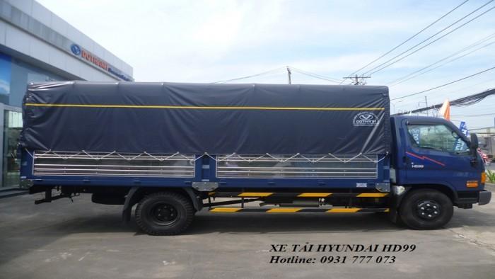 Xe tải Hyundai HD99 6,5 tấn - Đô Thành - Hỗ trợ giao xe nhanh - Hotline: 0931777073 (24/24)