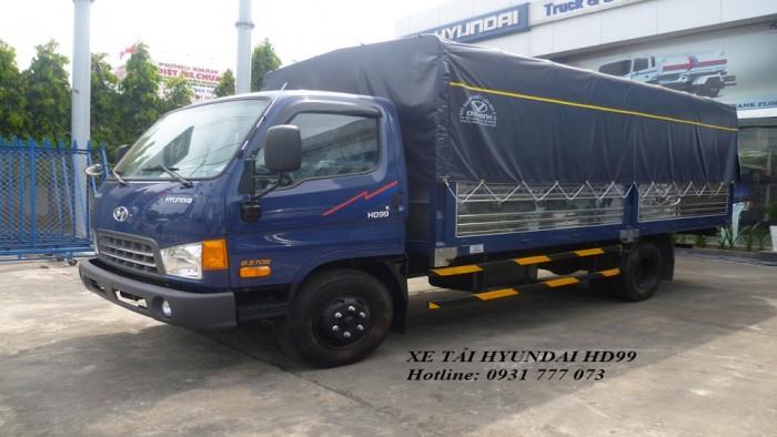 Xe tải Hyundai HD99 6,5 tấn - Đô Thành - Hỗ trợ giá tốt nhất - Hotline: 0931777073 (24/24)