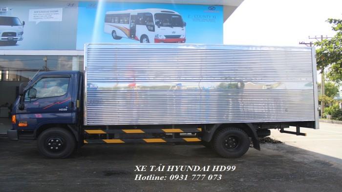 Xe tải Hyundai HD99 6,5 tấn - Đô Thành - Đóng xe theo yêu cầu khách hàng.