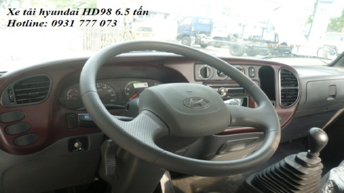 Xe tải Hyundai HD98 6,5 tấn. Hyundai Đô Thành