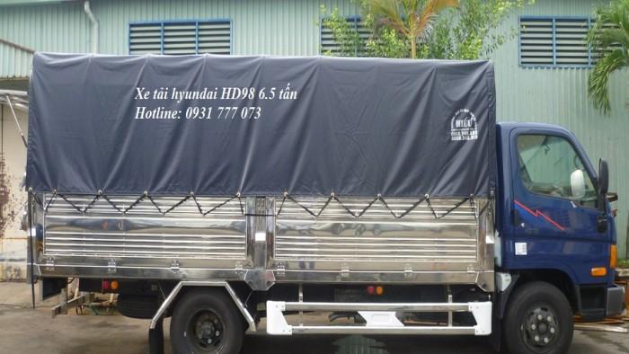 Xe tải Hyundai HD98 6,5 tấn. Hyundai Đô Thành 4