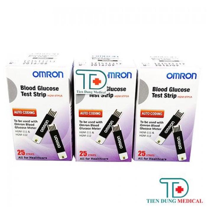 Que thử đường huyết Omron HGM-SPT1A0