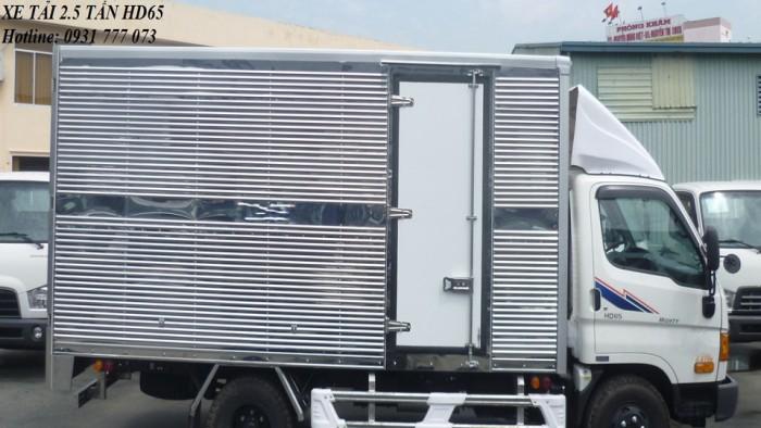 Xe tải Hyundai HD65 2,5 tấn - Đô Thành - Hỗ trợ trả góp lãi suất thấp.