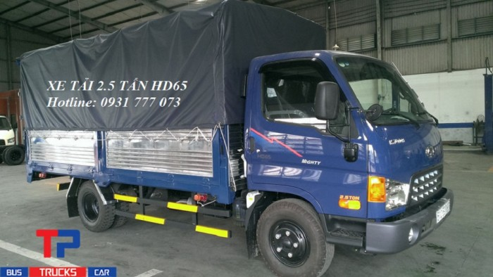 Xe tải Hyundai HD65 2,5 tấn. Hyundai Đô Thành