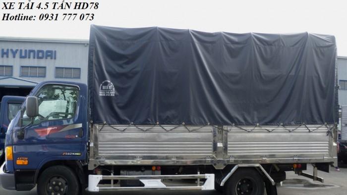 Xe tải Hyundai HD78 4,5 tấn. Hyundai Đô Thành