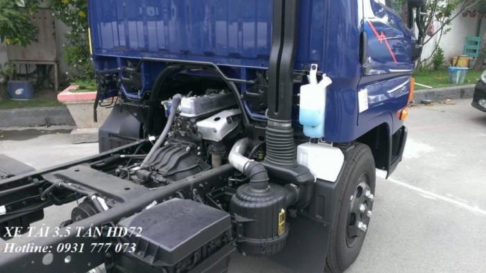 Xe tải Hyundai HD72 3,5 tấn. Hyundai Đô Thành