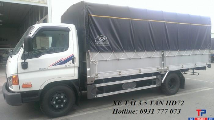 Xe tải Hyundai HD72 3,5 tấn - Đô Thành - Hotline: 0931777073 (24/24)