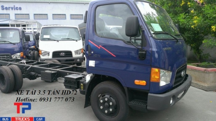 Xe tải Hyundai HD72 3,5 tấn - Đô Thành - Hỗ trợ giao xe nhanh