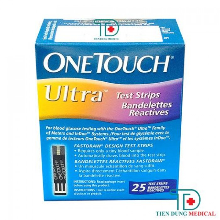 Que thử đường huyết OneTouch Ultra0