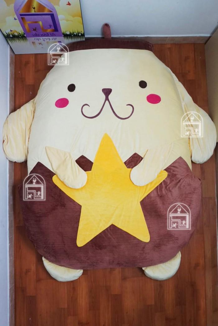Đệm Hình Thú Bông cao cấp Nhật Bản Tama Dorapurin 140x190cm0
