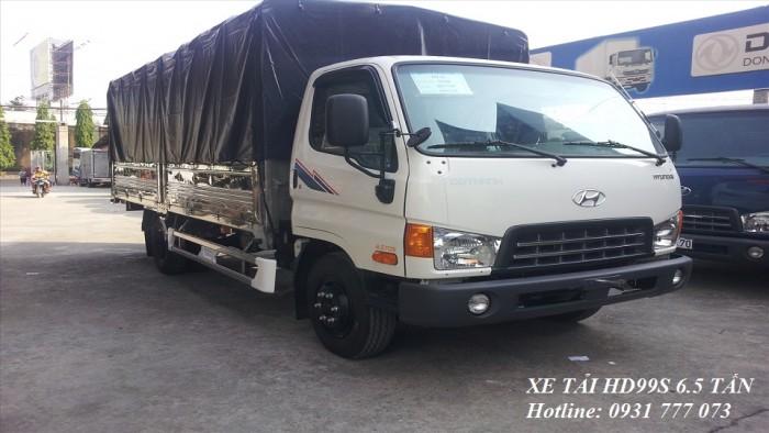Xe tải Hyundai HD99S Đô Thành - Xe tải Hyundai 6,5 tấn - Hotline: 0931777073 (24/24)
