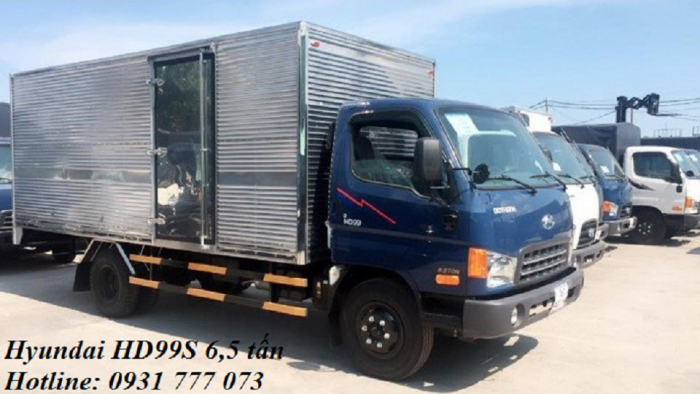 Xe tải Hyundai HD99S Đô Thành - Xe tải Hyundai 6,5 tấn - Hỗ trợ trả góp lãi suất thấp.