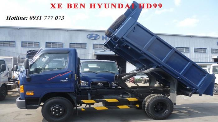 Xe ben Hyundai HD99 Đô Thành Xe ben Hyundai 6 tấn