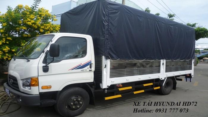 Xe tải Hyundai HD72 Đô Thành - Xe tải Hyundai 3,5 tấn