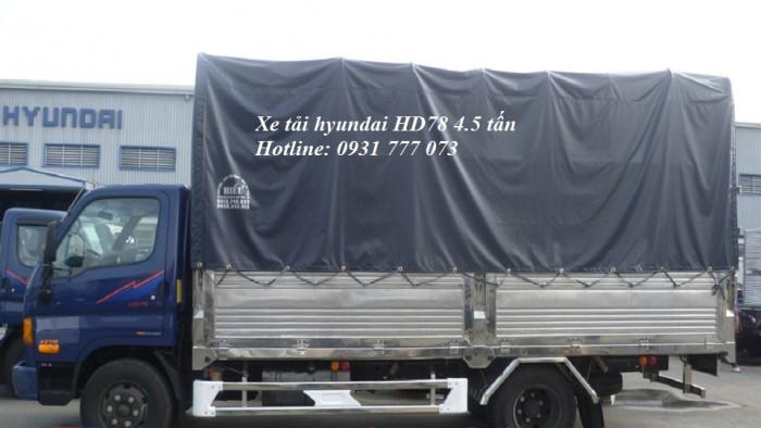 Xe tải Hyundai HD78 Đô Thành - Xe tải Hyundai 4,5 tấn - Hỗ trợ giao xe nhanh.