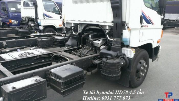 Xe tải Hyundai HD78 Đô Thành - Xe tải Hyundai 4,5 tấn - Hỗ trợ trả góp lãi suất thấp.
