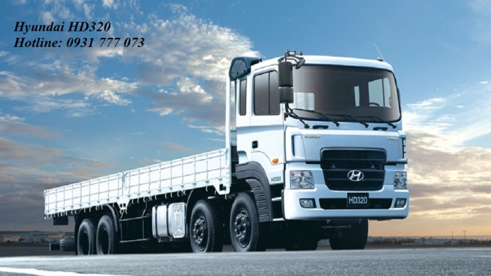 Xe tải Hyundai HD320 - Hyundai Đô Thành