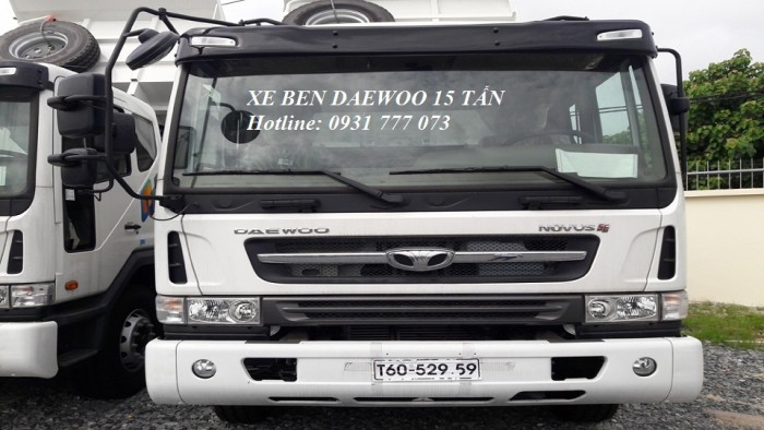 Xe Ben DAEWOO 15 Tấn - Hyundai Đô Thành - Hotline: 0931777073 (24/24)