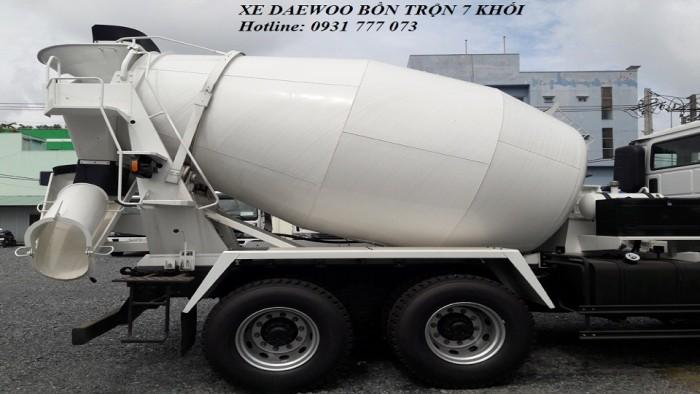 Xe DAEWOO Bồn Trộn 7 Khối - Hotline: 0931777073 (24/24)