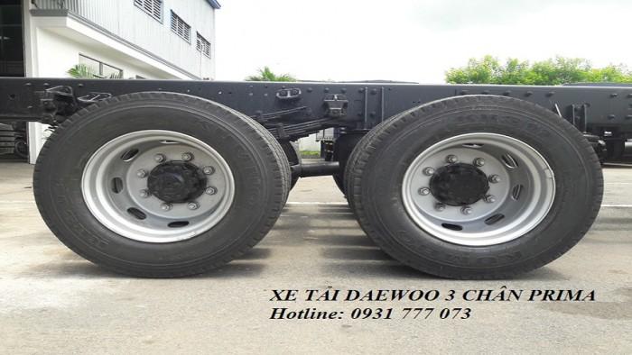 Xe Tải DAEWOO 3 Chân PRIMA 15,5 Tấn Hyundai Đô Thành