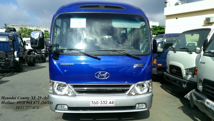 Xe 29 chỗ Hyundai County - Hotline: 0931777073 (24/24)