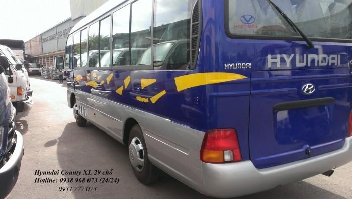 Xe 29 chỗ Hyundai County - Xe County 29 chỗ Thân dài XL - Giá xe County rẻ nhất