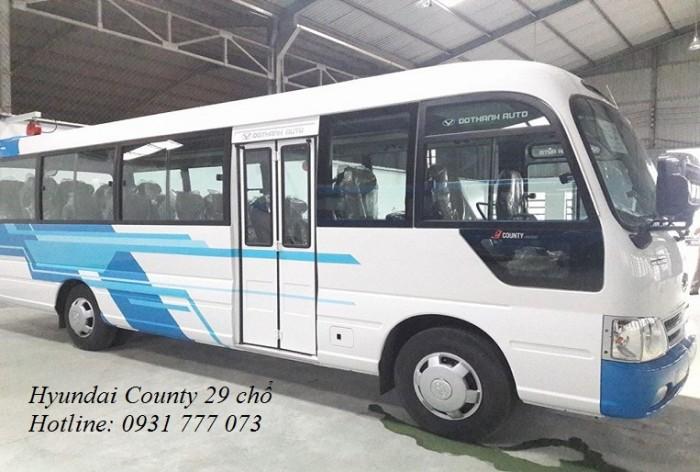 Giá xe Hyundai County 29 chỗ - Hyundai Đô Thành - Hỗ trợ trả góp lãi suất thấp.
