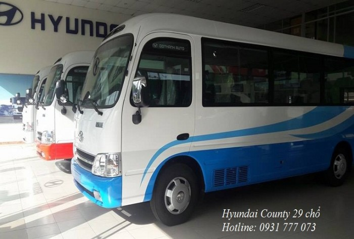 Giá xe Hyundai County 29 chỗ - Hotline: 0931777073 (24/24)