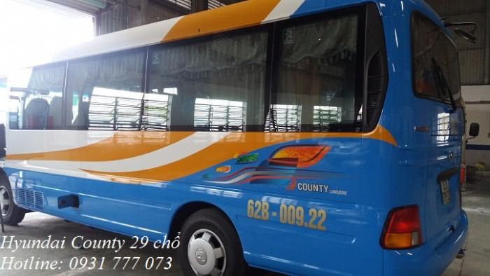Bán xe khách Hyundai County 2018 - Hyundai Đô Thành