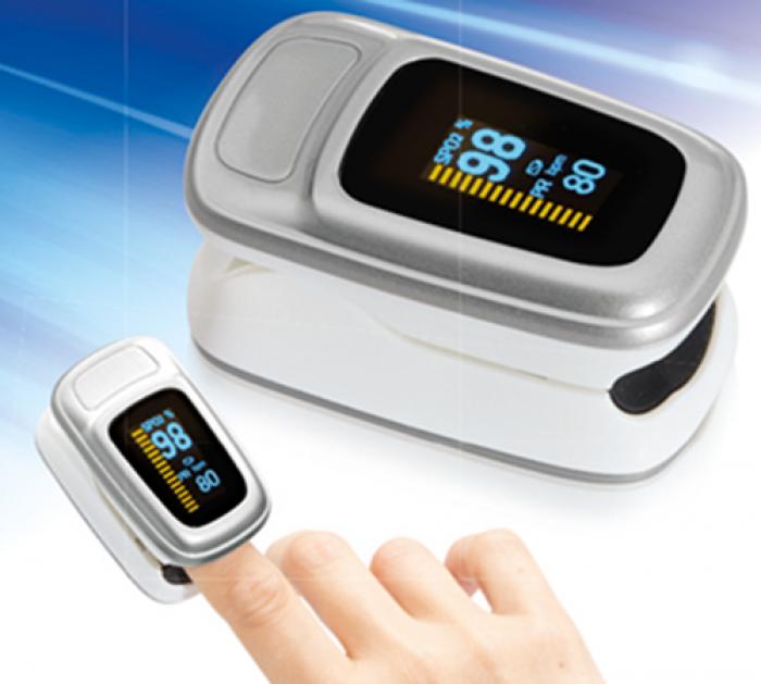 Máy đo nồng độ ô xy trong máu ( SpO2) và nhịp tim Lanaform S1