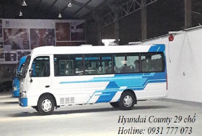 Xe khách 29 chỗ - Giao xe trong vòng 5 ngày - Hotline: 0931777073 (24/24)